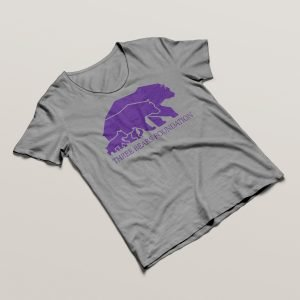 Three Bears T-shirt Grey